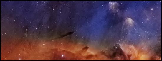 IC 5067 in the Pelican Nebula (NASA)